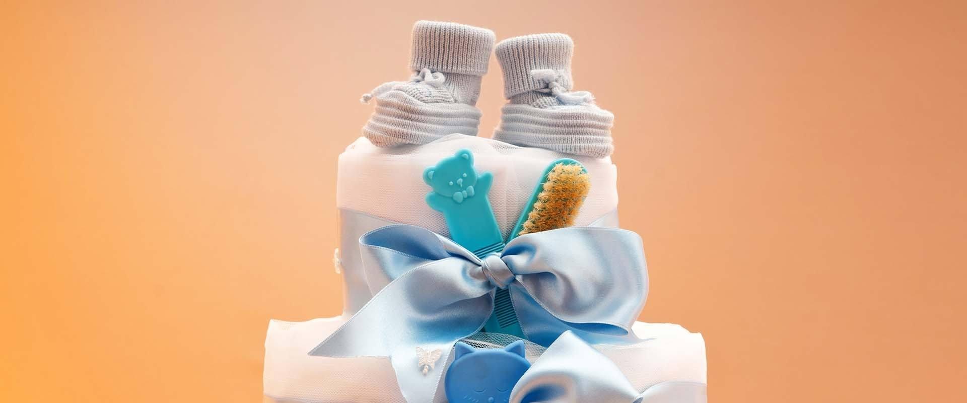 Diaper Cake Gift Baskets