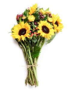 Radiant Glow Bouquet