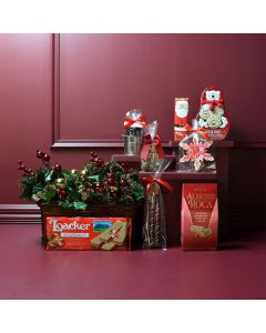 Holiday Chocolate Connoisseur Gift Basket