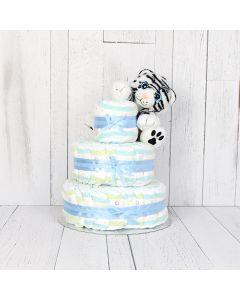 Cuddly Diaper Cake Gift Set