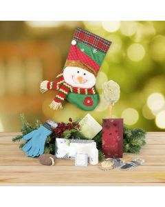 Spa Snowman Stocking Stuffer