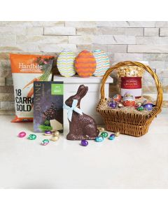 Chips & Chocolate Goodies Easter Gift Basket