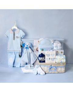 DELUXE BABY BOY CHANGING SET