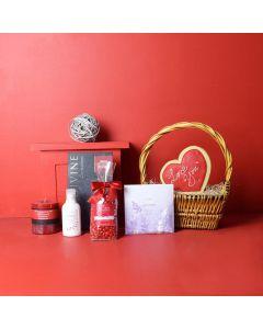 Pamper Her with Love Valentine's Gift Basket