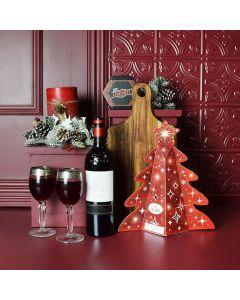 Holiday Wine & Cheese Platter