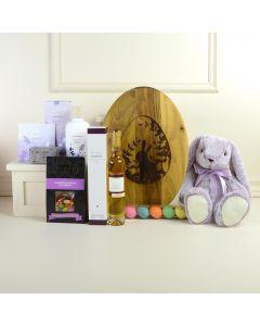 Lavender Easter Spa Gift Basket