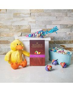 Baby Chick Easter Sweets Gift Basket