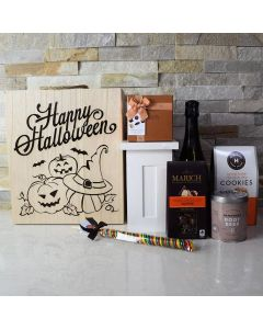 Halloween Champagne Celebration Crate