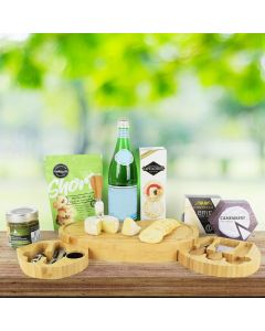 Cheese, Cookies & Crackers Gift Set