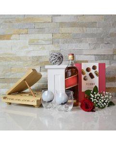 Mother's Day Truffles & Liquor Gift Basket