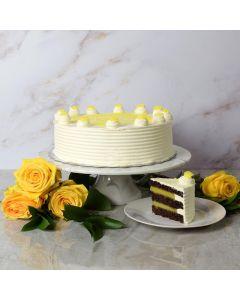 Large Lemon Cake
