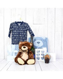 Celebrate Your Baby Boy Gift Set