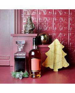 Santa's Liquor & Chocolate Basket
