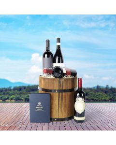 The Wine and Chocolate Collection Barrel