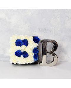 It's A Boy! Flower Box Gift Basket