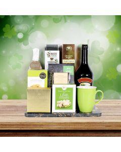 St. Patrick's Deluxe Irish Coffee Gift Basket