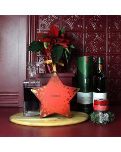Holiday Liquor & Decanter Gift Basket