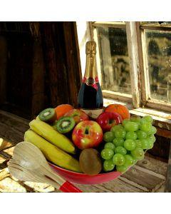 Champagne & Fruit Salad Bowl