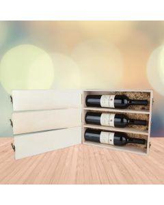 Happy Anniversary Trio Wine Box