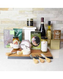 The Rustic Wine & Spreads Gift Set