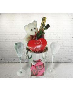"""""""The Perfect Way to Toast Your Mother"""" Gift Basket"""