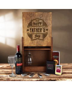Happy Father's Day Wine Crate