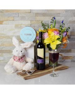 Blossoms of Spring Easter Gift Basket