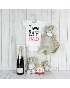 New Dad Welcome Basket