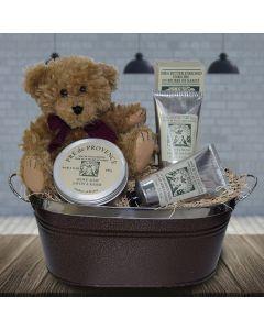 Shaving Time Gift Basket