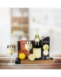 Wild Salmon & Wine Gift Basket