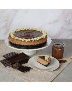 Large Chocolate Cheesecake With Hazelnut Spread