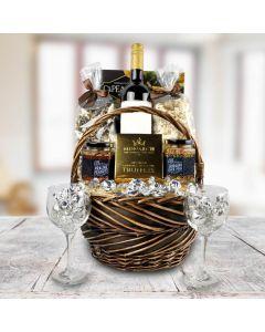 Truffles and Wine Gourmet Gift Basket