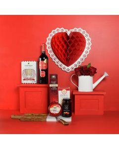 True Love Valentine's Day Wine Gift Set