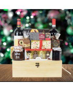 Vintage Wine Gift Crate