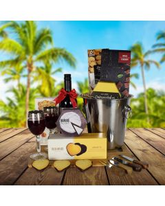 Marvelous Wine & Cheese Gift Basket