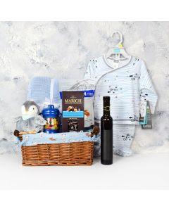 Chocolates & Wine Baby Gift Basket