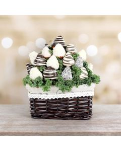 Chocolate Dipped Strawberries Gift Basket