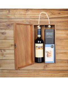 Ultimate Decadence Wine Gift Basket