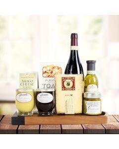 Gourmet Dipping & Wine Gift Basket