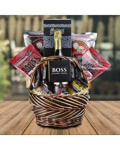 East Cove Champagne Gift Basket