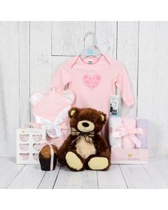 HI THERE LITTLE GIRL GIFT SET