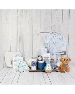 Sleep Well Baby Boy Gift Basket