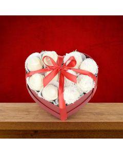 White Chocolate Strawberries Box