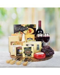 Special Cheese & Crackers Wine Gift Set
