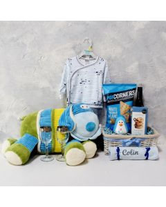 SMART GIFT BASKET FOR THE BABY & PARENTS