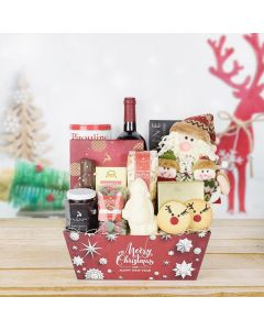 Up on the Housetop Wine Gift Set