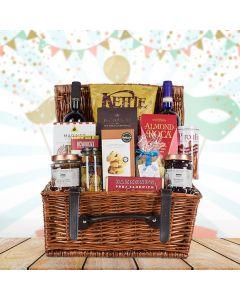 Festive Purim Wine Gift Basket