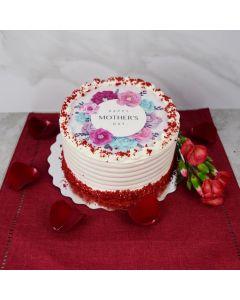 Mother's Day Red Velvet Cake