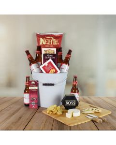 Budweiser Beer Gift Basket