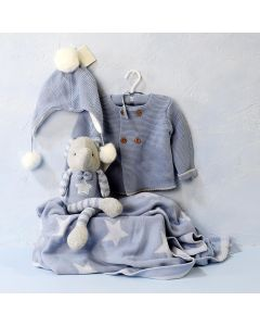 BOY'S COMFORT CLOTHING SET WITH TOY
